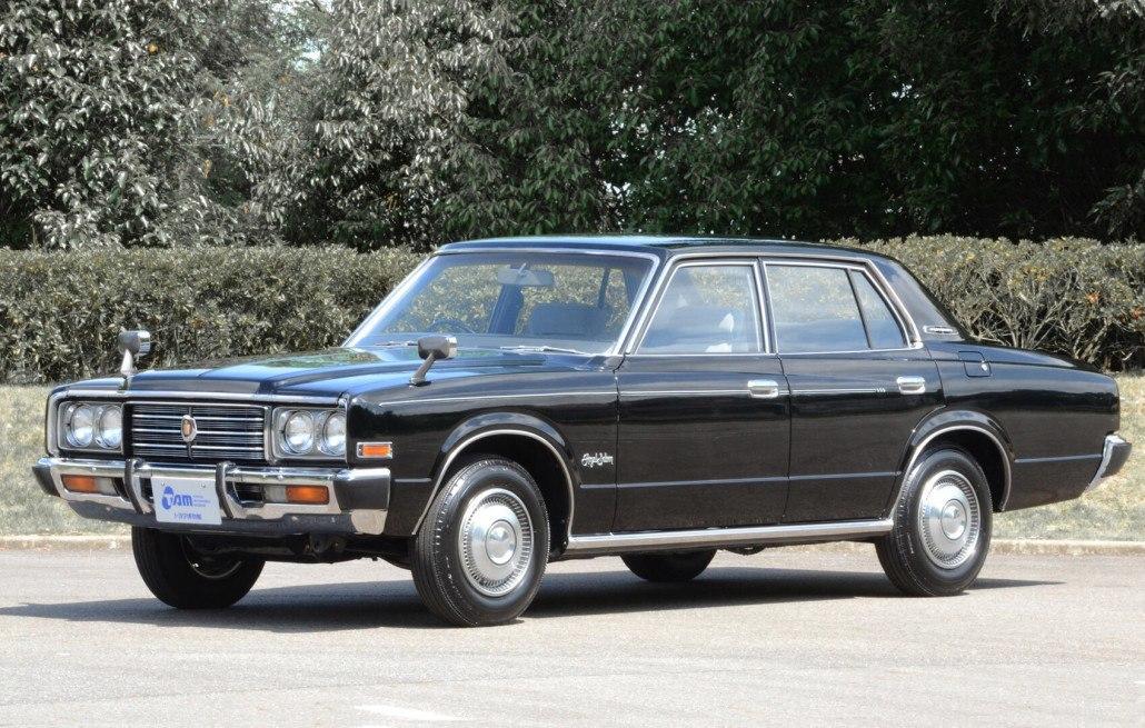 Toyota Crown S80 Royal Sedan 1974-1979