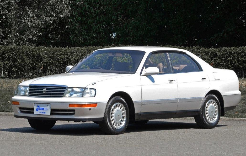 Toyota Crown S140 hard top 1991-1993
