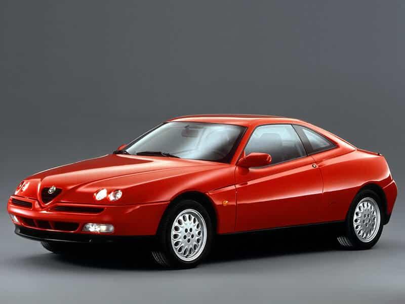 Alfa Romeo GTV 1995-1998 - vue avant