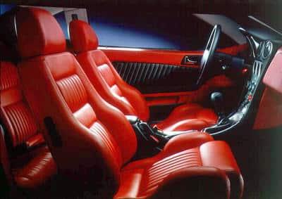 Alfa Romeo GTV 1998-2003 - intérieur