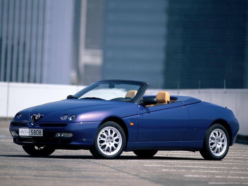 Alfa Romeo Spider 1998-2003 - vue avant