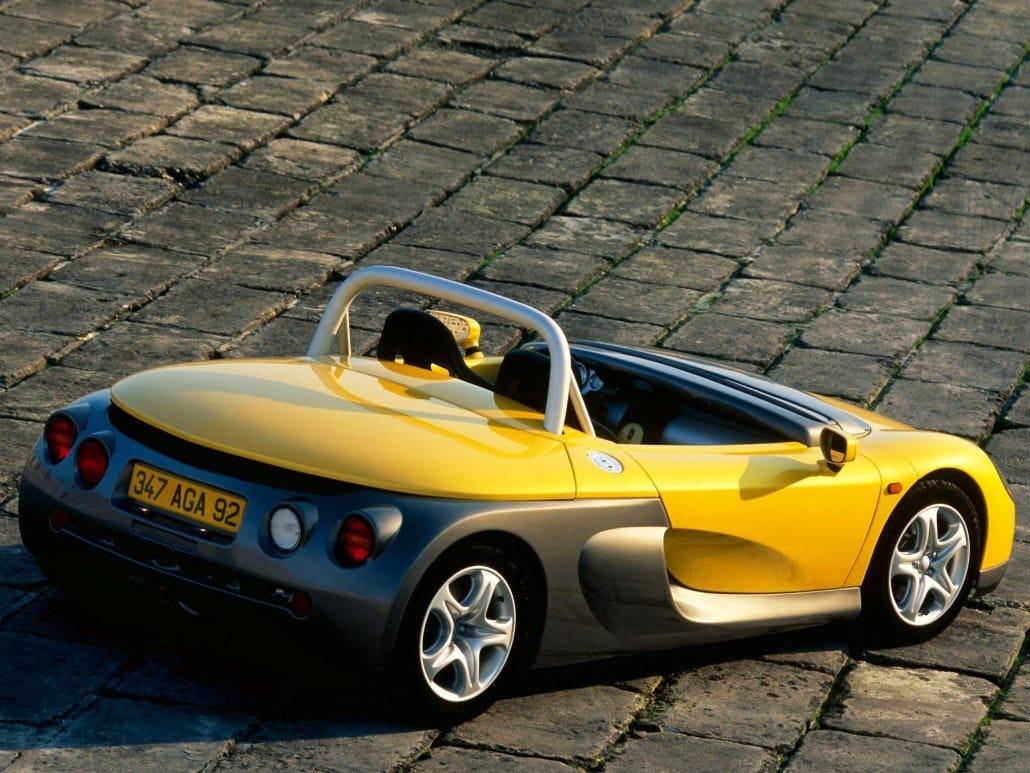 Renault Sport Spider vue arrière - photo Renault