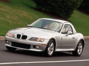 Z3 roadster US 1999-2002 vue AV avec hard top - photo BMW