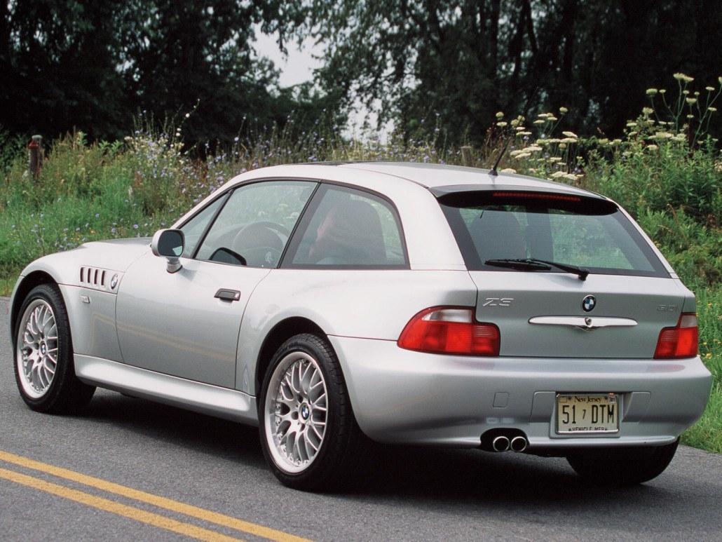 Z3 3,0 coupé US 2000-2002 vue AR - photo BMW