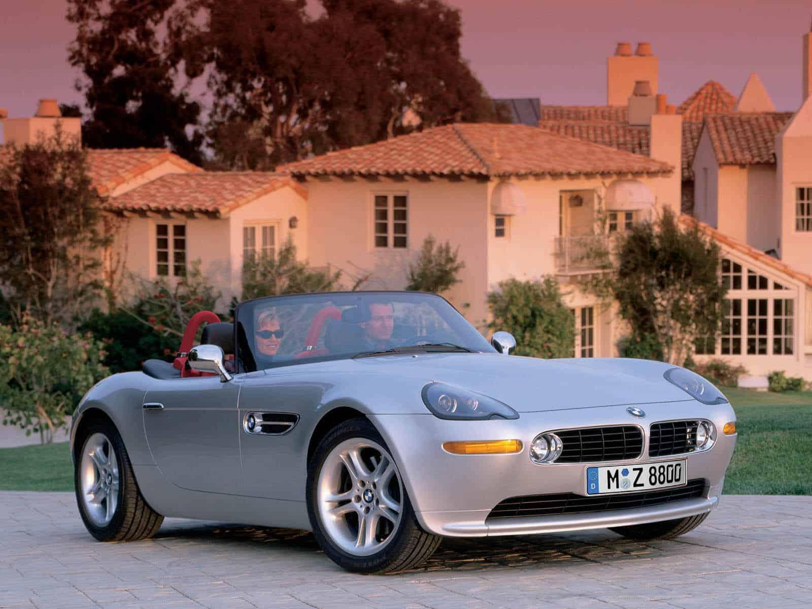 BMW Z8 1999-2003 vue AV - photo BMW