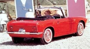 Honda Sports 360 prototype 1962 - vue AR - photo Honda Collection Hall