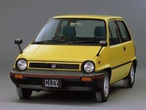 Honda City 1981-1986 - Honda Jazz Europe