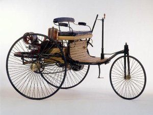 Benz Patent Wagen 1885 - photo Musée Mercedes-Benz