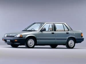 Honda Civic Sedan 1983-1987 - Honda Ballade