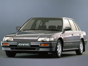 Honda Civic Sedan 1987-1991