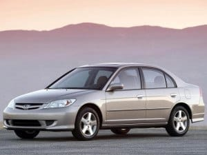 Honda Civic Sedan 2001-2006 - Honda Civic Ferio