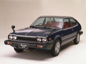 Honda Accord Liftback 1976-1981