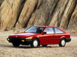 Honda Accord Liftback 1986-1989