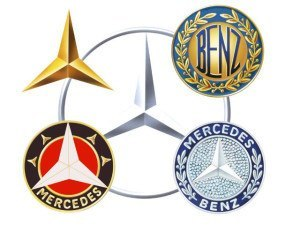 Évolution des logos Mercedes-Benz