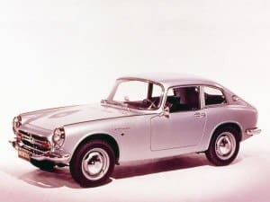 Honda S-series coupé 1965-1970 - S600 S800
