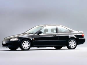 Honda Civic Coupe 1993-1995