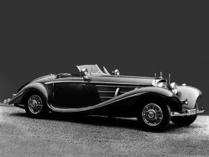 Mercedes-Benz 500K Special Roadster 1936 - photo Mercedes-Benz