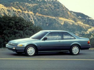 Honda Accord Coupe 1988-1989