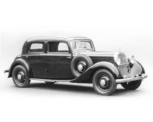 Mercedes-Benz 260D 1936-1940 - photo Mercedes-Benz