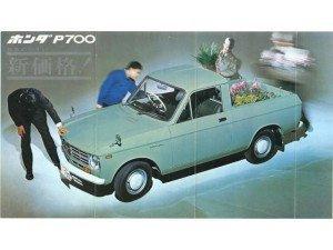 Honda P-series 1965-1968 - P700 P800