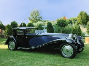 Bugatti Type 41 Royale Coupe Napoleon - photo : auteur inconnu DR