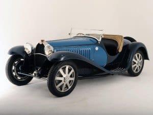 Bugatti Type 55 1931-1935 - photo : auteur inconnu DR