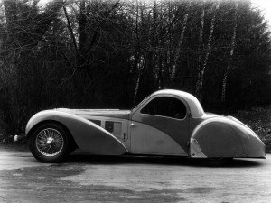 Bugatti Type 57S Atalante 1936-1938 - photo : auteur inconnu DR
