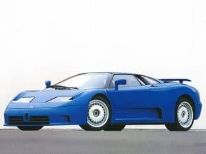 Bugatti EB110 1991-1995 - photo Bugatti