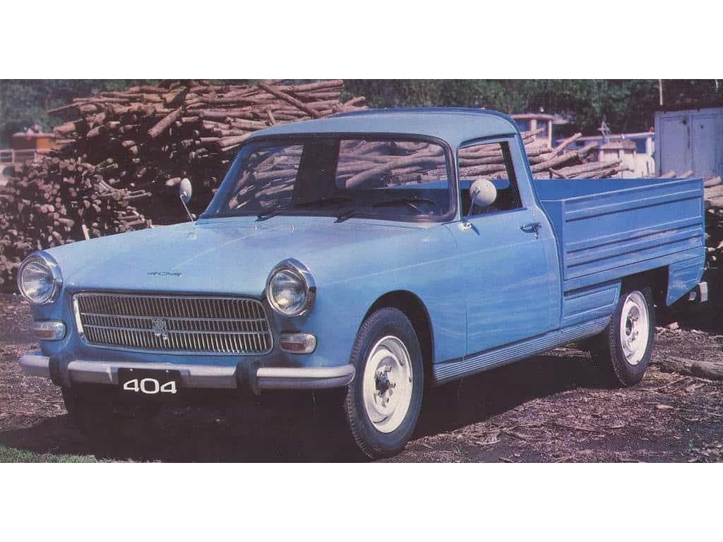 Peugeot 404 pick-up Argentine 1979-1983 - photo Peugeot