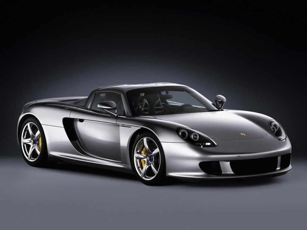 Porsche Carrera GT 2003-2006 vue AV - photo Porsche