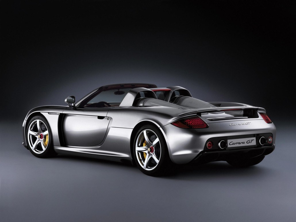 Porsche Carrera GT 2003-2006 vue AR - photo Porsche