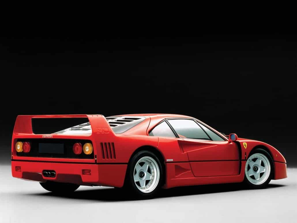 fiche technique ferrari f40 l 39 auto sportive auto forever. Black Bedroom Furniture Sets. Home Design Ideas