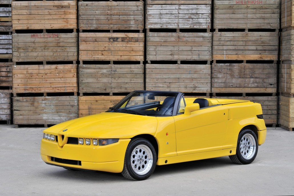 Alfa Romeo RZ 1992-1993 vue AV - photo Tim Scott/RM Auctions