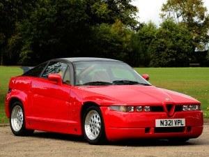 Alfa Romeo SZ 1989-1991 vue AV - photo Tom Wood/RM Auctions