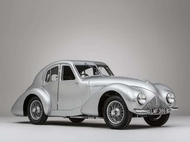 Aston Martin Atom prototype 1939 - photo Aston Martin