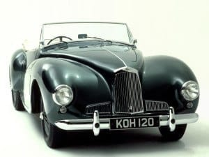 Aston Martin Two Litre Sports (DB1) 1948-1950 - photo Aston Martin
