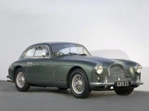Aston Martin DB2/4 Saloon 1953-1957 - photo Aston Martin