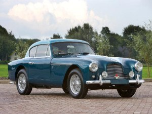 Aston Martin DB2/4 Fixed hardtop coupe 1955-1957 - photo : auteur inconnu DR