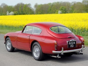 Aston Martin DB Mk III Saloon 1957-1959 - photo Tim Scott/RM Auctions