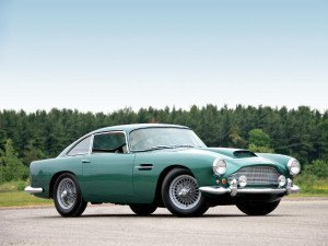 Aston Martin DB4 1958-1963 - photo : auteur inconnu DR
