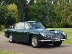 Aston Martin DB6 1965-1970 - photo : auteur inconnu DR