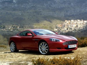 Aston Martin DB9 depuis 2003 - photo Aston Martin