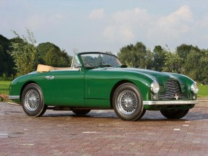 Aston Martin DB2 Convertible 1951-1953 - photo : Pieter E Kamp