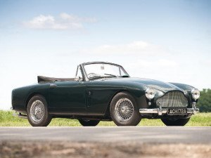 Aston Martin DB Mk III Convertible 1957-1959 - photo : Darin Schnabel