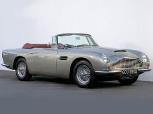 Aston Martin Volante 1965-1966 - photo Aston Martin