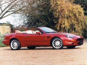 Aston Martin DB7 Volante 1996-2003 - photo Aston Martin
