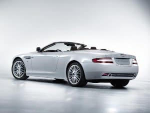 Aston Martin DB9 Volante depuis 2004 - photo Aston Martin
