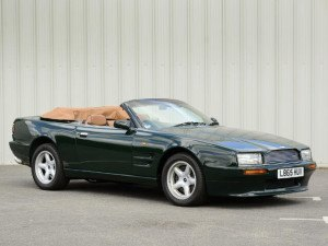 Aston Martin Virage Volante 1992-1996 - photo : auteur inconnu DR