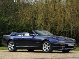 Aston Martin V8 Volante 1997-2000 - photo : auteur inconnu DR