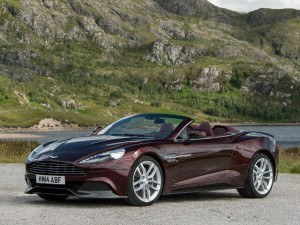 Aston Martin Vanquish Volante depuis 2013 - photo Aston Martin